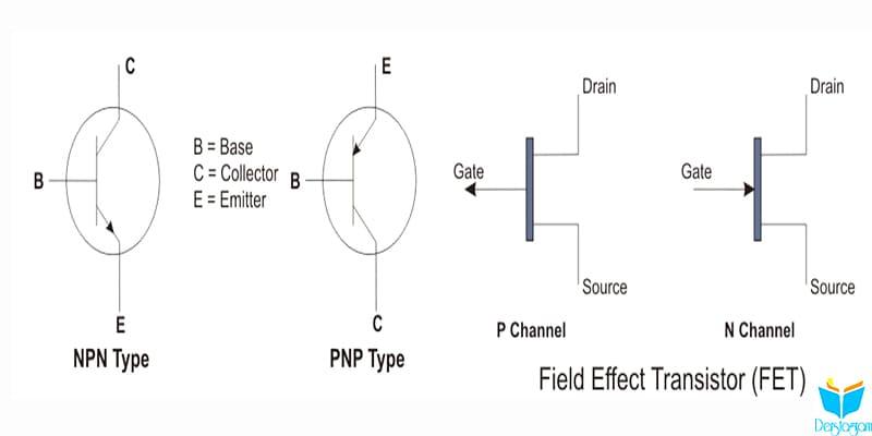 transistör ve transistör çeşitleri nedir