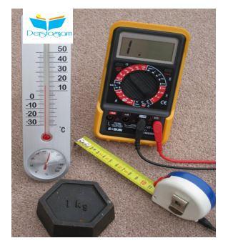 Elektrik elektronik temel ölcü birimleri