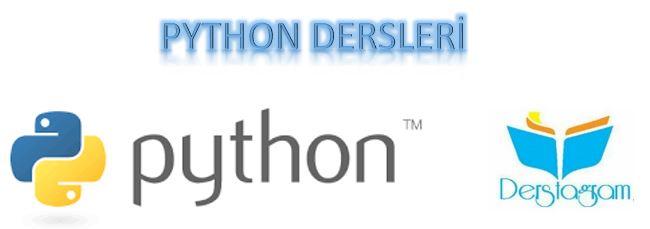 python anahtar kelimeler